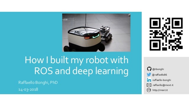 How I built my robot with ROS and deep learning