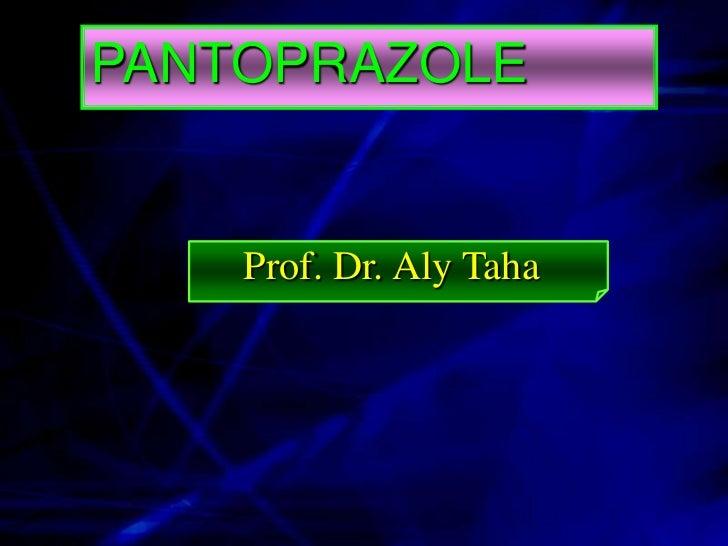 PANTOPRAZOLEPROTON PUMP INHIBITOR PPI                                      O-CH F2            O C H3       N     H3CO     ...