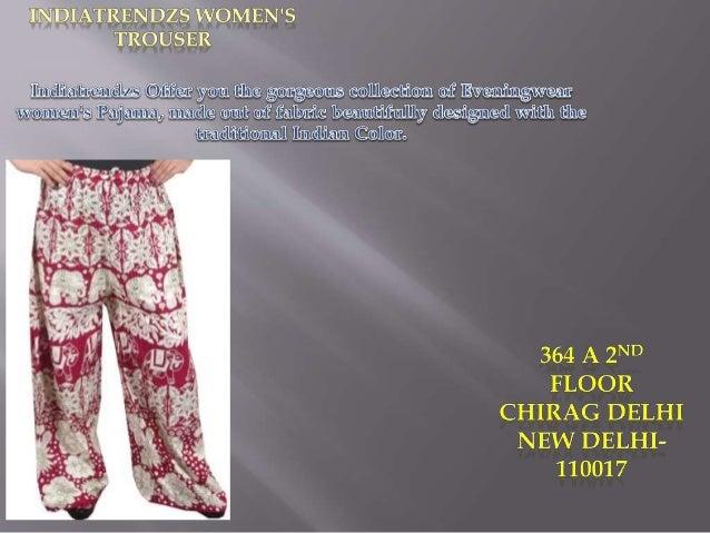 indiatrendzs womens harem pants Slide 3