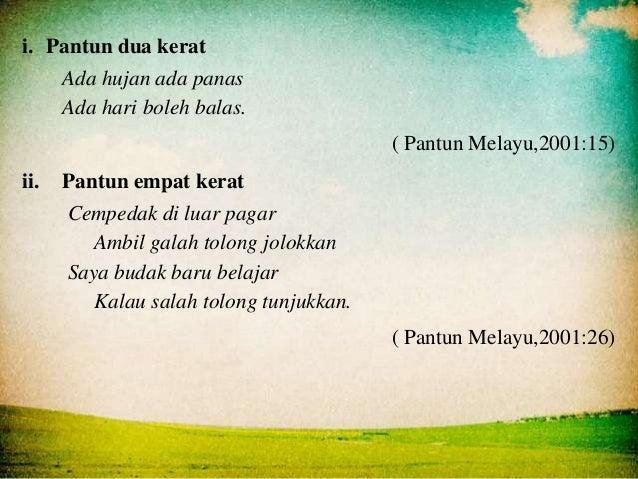 Slaid Pembentangan Pantun Melayu Bingkisan Permata