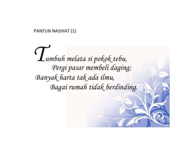 Pantun Nasihat   Feedyeti Com