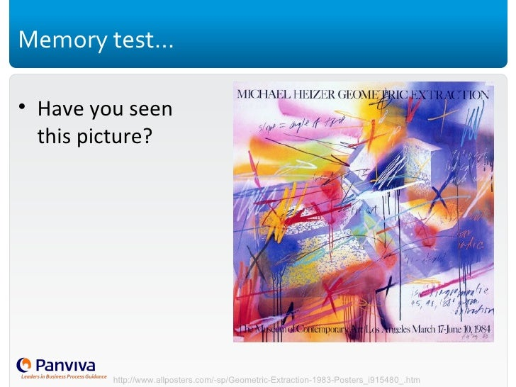 Memory test… <ul><li>Have you seen this picture? </li></ul>http://www.allposters.com/-sp/Geometric-Extraction-1983-Posters...