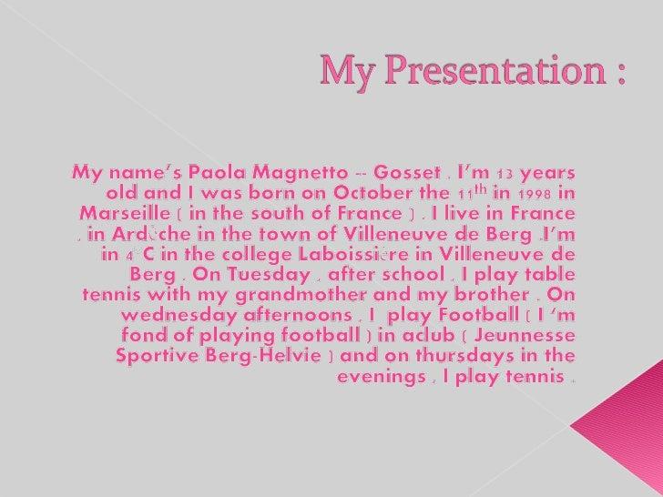Paola Slide 2
