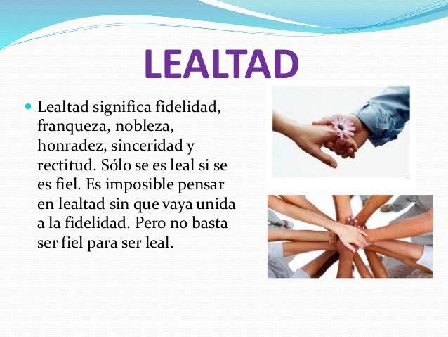 HONOR DISCIPLINA Y LEALTAD