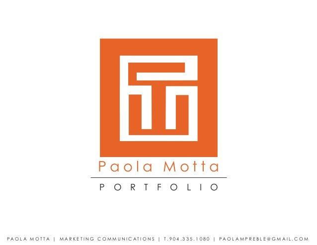 Paola Motta                                          P     O       R     T     F     O       L     I    OPA O L A M O T TA...