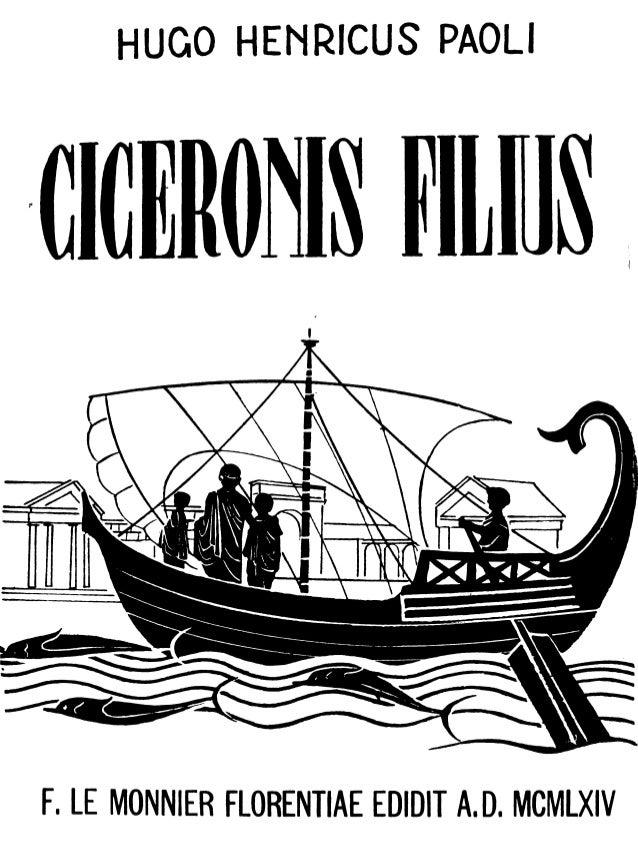 Paoli   ciceronis filius