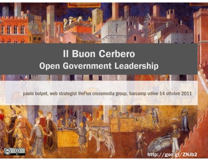 Il Buon Cerbero - Open Government Leadership