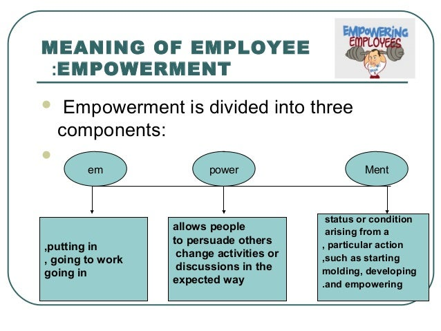 the relationship between employee empowerment and productivity
