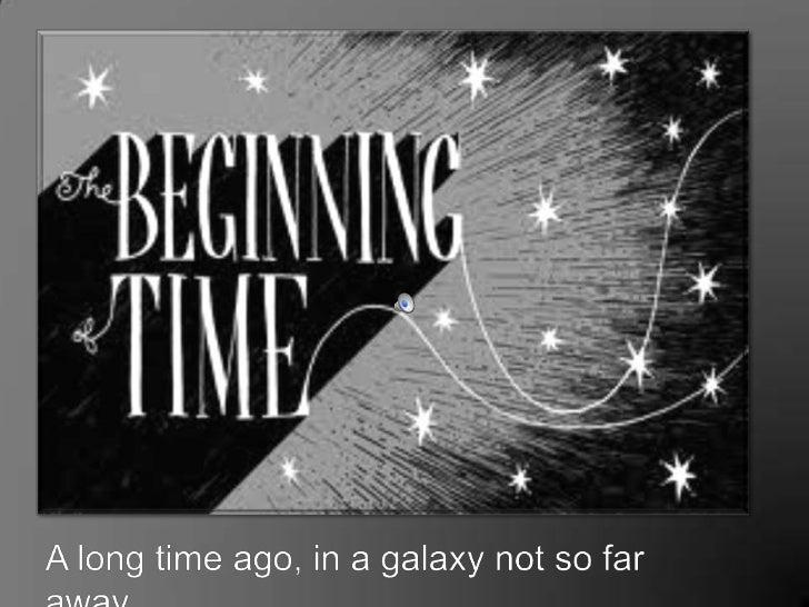 A long time ago, in a galaxy not so far away…<br />