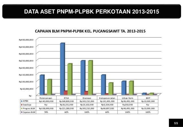 DATA ASET PNPM-PLPBK PERKOTAAN 2013-2015 11 Rp- Rp50,000,000 Rp100,000,000 Rp150,000,000 Rp200,000,000 Rp250,000,000 Rp300...