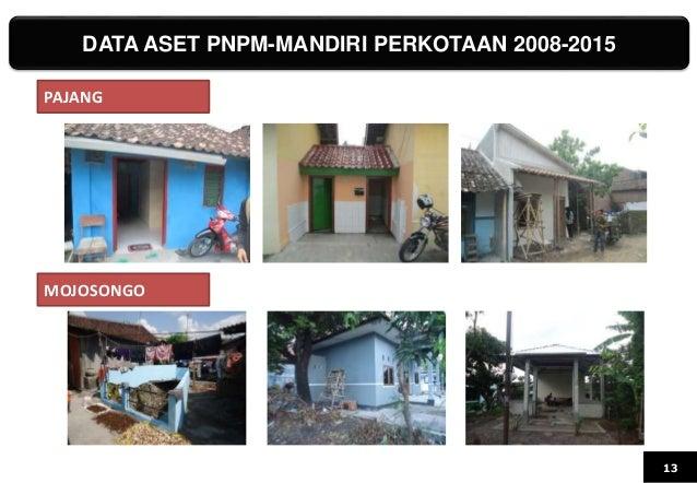 DATA ASET PNPM-MANDIRI PERKOTAAN 2008-2015 13 PAJANG MOJOSONGO