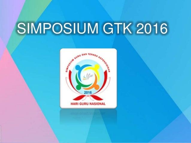 SIMPOSIUM GTK 2016