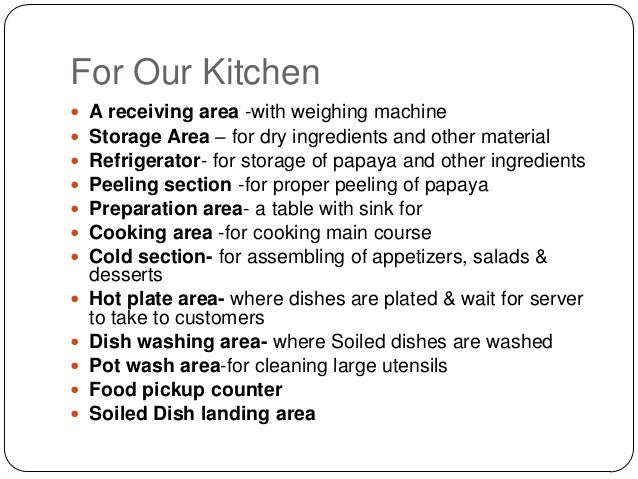 Restaurant Kitchen Areas papaya restaurant kitchen design