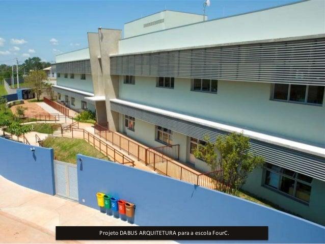 Projeto DABUS ARQUITETURA para a escola FourC.