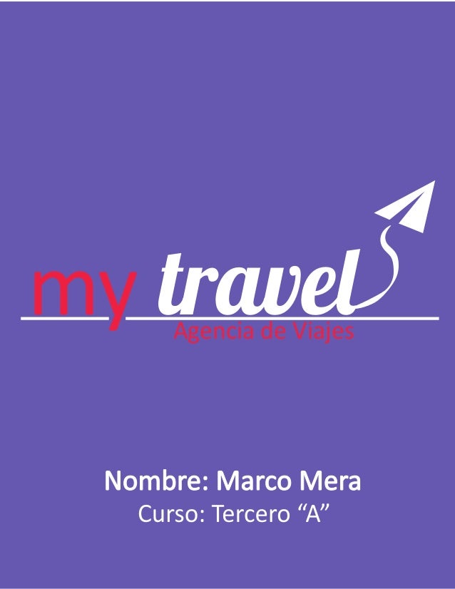 Papeleria MyTravel by Marco Mera