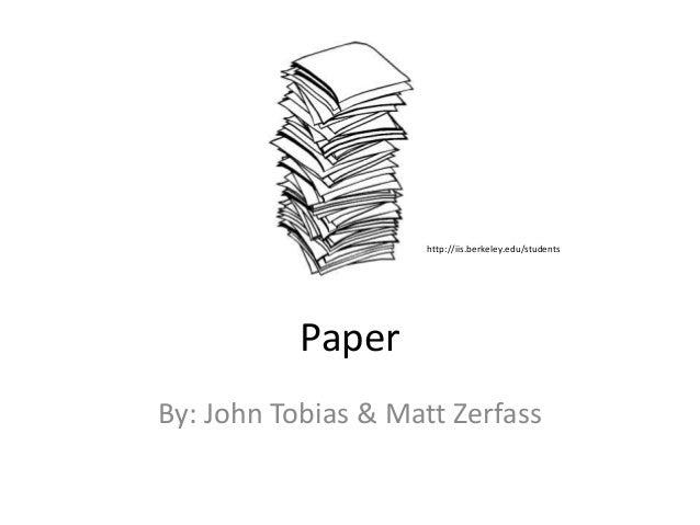 Evolution of Paper