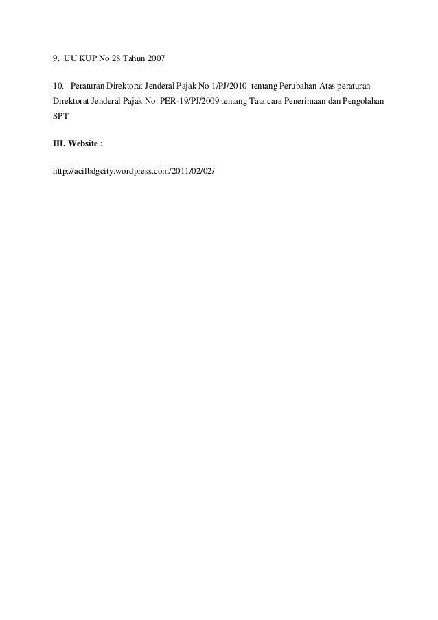 uu kup no 28 Uu no28 tahun 2007 (uu kup) - free download as pdf file (pdf), text file (txt) or read online for free kup.