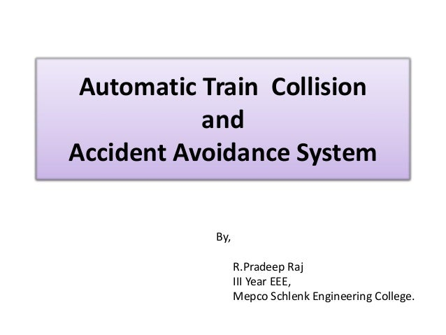 essay on train accidents