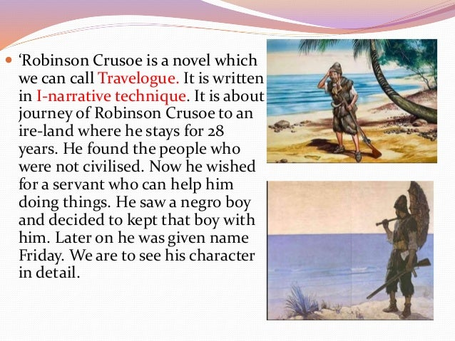 Character Analysis of Robinson Crusoe's Friday