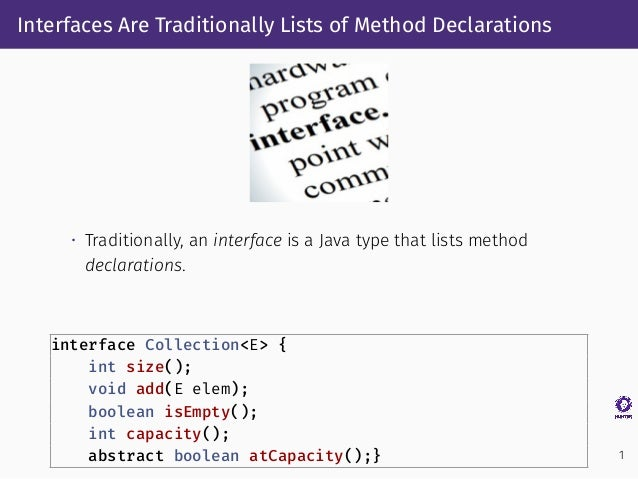 Defaultification Refactoring: A Tool for Automatically Converting Java Methods to Default Slide 3