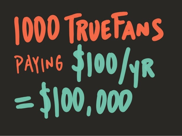 1000 True Fans & The Law of Category
