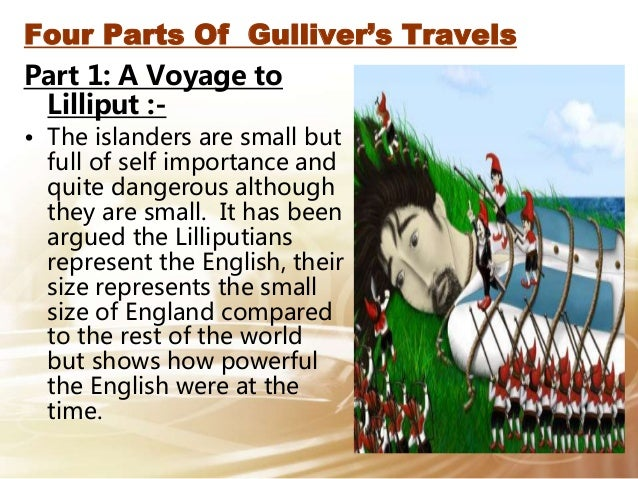 an essay on gullivers travels