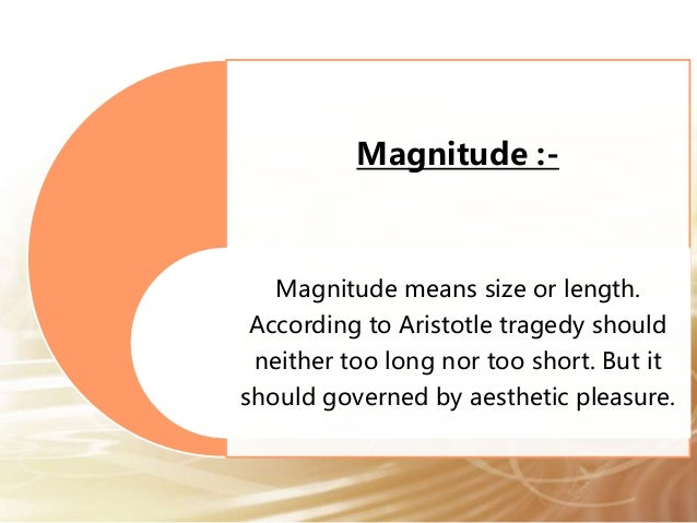 an analysis of tragedy by aristotle