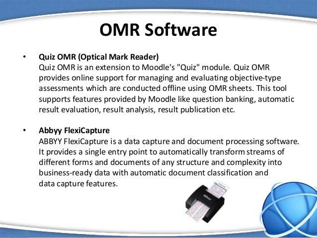 omr sheet reader software free