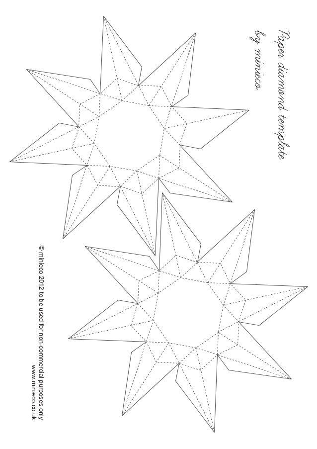 Paperdiamondtemplate byminieco ©minieco2012tobeusedfornon-commercialpurposesonly www.minieco.co.uk