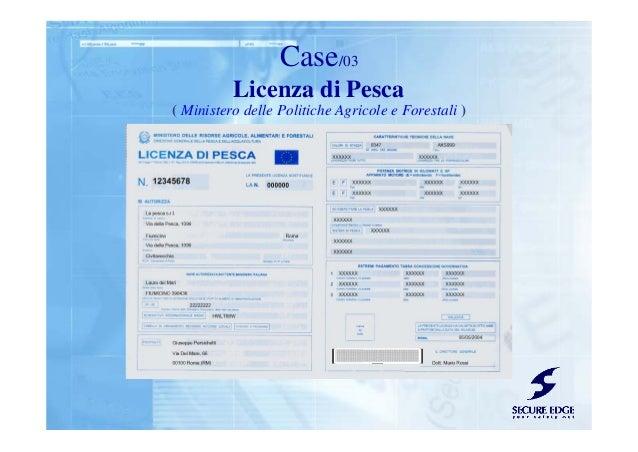 Licenza di Pesca Case/03 ( Ministero delle Politiche Agricole e Forestali )
