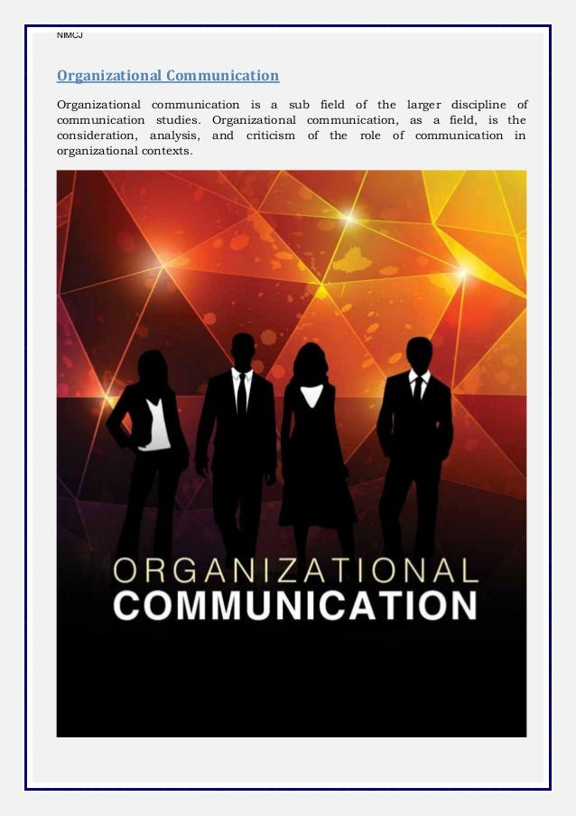 "organizational commitment and communication paper Results to low employee commitment to the organization (1982) defined organizational communication as ""the central binding force that permits coordination among."