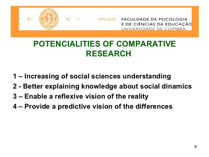 Comparative social research