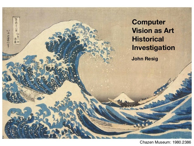 Computer Vision as Art Historical Investigation