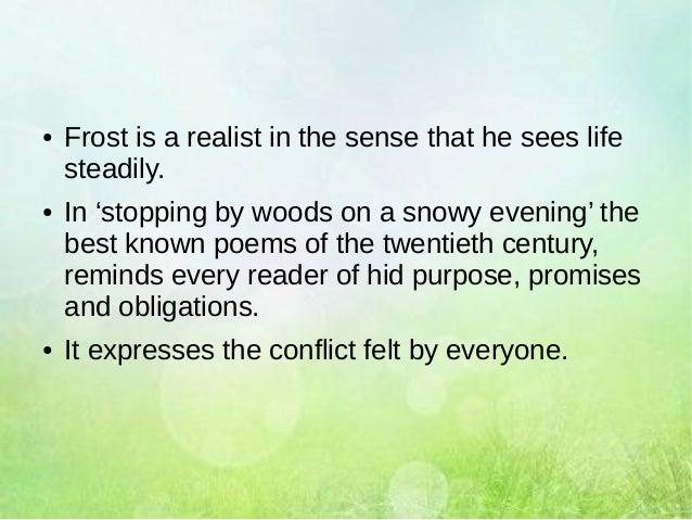 characteristics of robert frost poetry