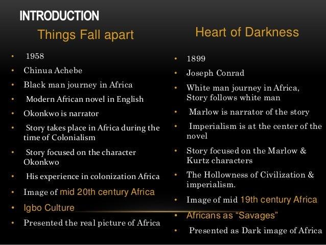 things fall apart vs heart of darkness essay