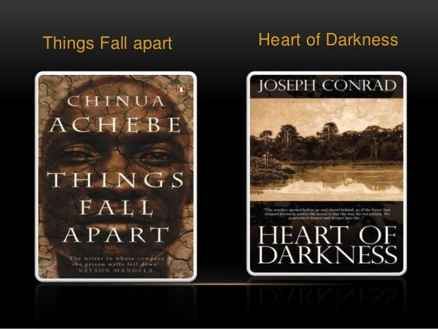 chinua achebe essay heart of darkness Chinua achebe & joseph conrad will be to compare joseph conrad's heart of darkness and chinua achebe's things fall issues will be a big part of this essay.