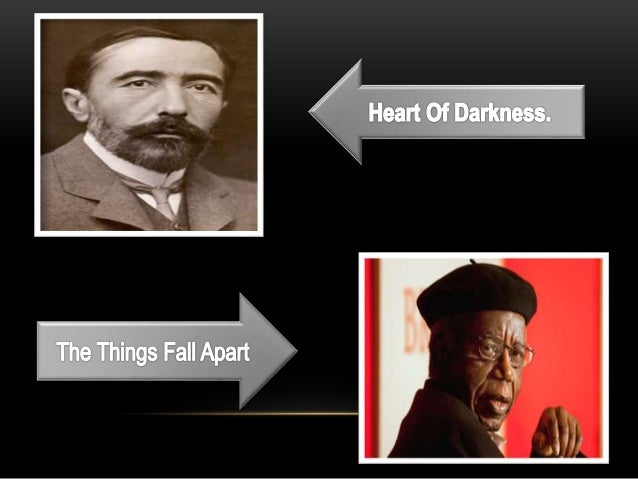 a comparison of the natives in the heart of darkness and things fall apart Heart of darkness and things fall apart delineate contrasting views of africa in literature in heart of darkness who tend to depict all the natives as savages.
