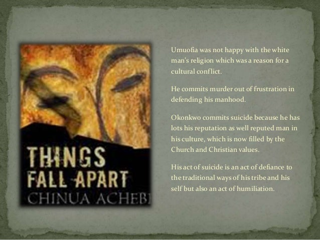 """things fall apart by achebe the culture of the umuofia society Things fall apart essay chinua achebe's """"things fall apart"""" leads the reader to reflect on his own traditions, society and religion, and examine the revolution of the ibo culture into today's western culture."""