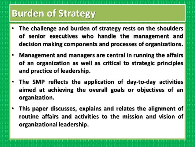 strategic management paper Final paper for strategic management course at uiw presented december 2013.