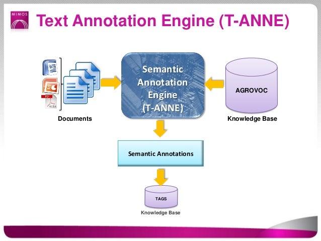 Text Annotation Engine (T-ANNE)                 Semantic                Annotation                                       A...