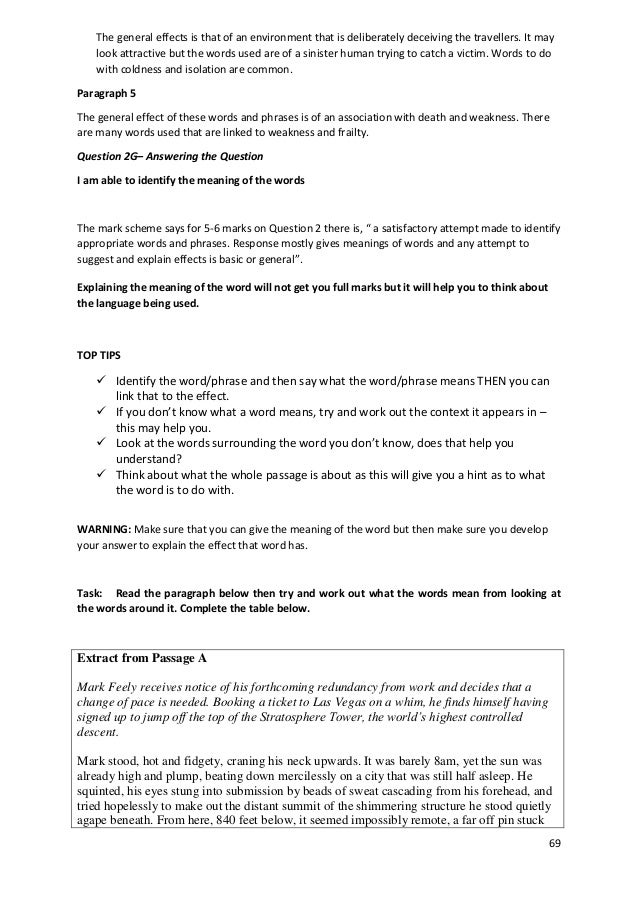 paper 2 igcse revision guide rh slideshare net igcse study guide for english literature igcse study guide for english literature