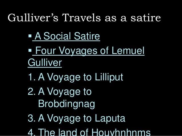 Jonathan Swift and 'Gulliver's Travels'