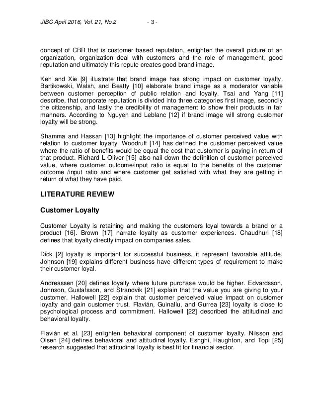 role of the brand in developing customer loyalty Berman (2006) developing an effective customer loyalty program - download as pdf file (pdf), text file (txt) or read online.