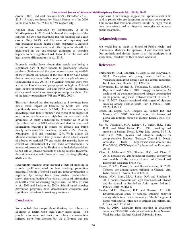 Essay on health awareness