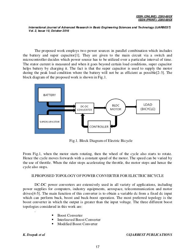 simulation and implementation of electric bicycle employing bldc drive bike derailleur diagram e bike block diagram #39