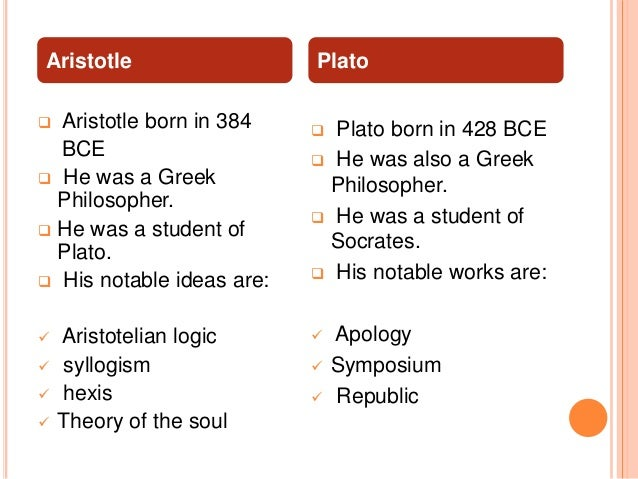 compare and contrast plato and aristotle political philosophy