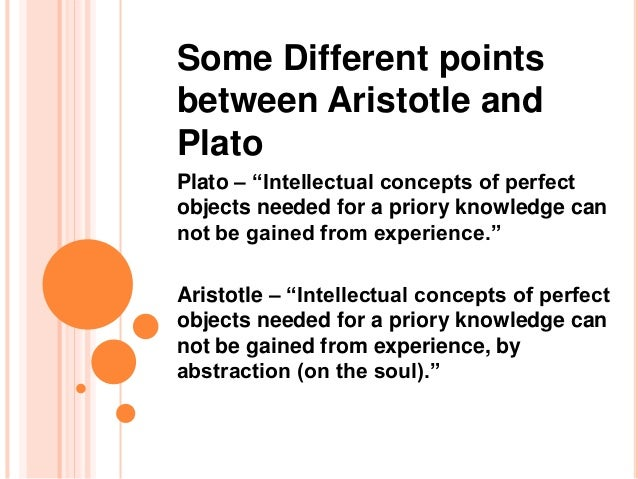 compare and contrast platos and aristotles ideal state