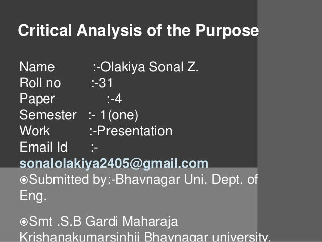 Good Title Critical Essay – 838480