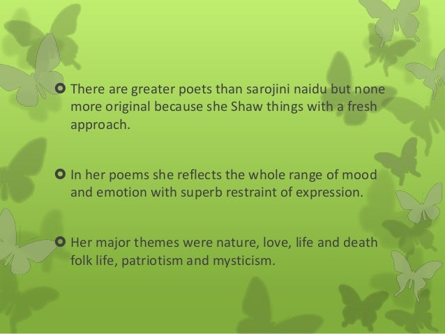 sarojini naidu poems in hindi pdf
