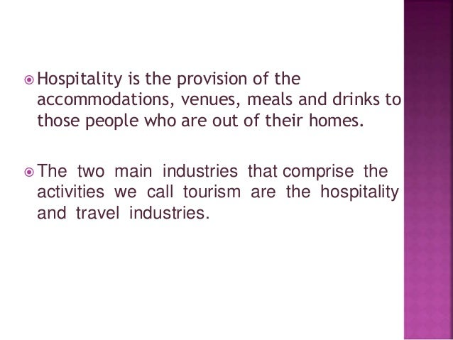 the hotel and tourism tourism law tourism essay It and internet's impact on tourism and hospitality industry: implementations of technologies for hilton hotels group.